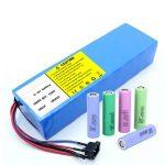 Bateria litowa 18650 60V 12AH akumulator litowo-jonowy do skutera