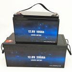 Bateria słoneczna Deep Cycle LiFePO4 12V 100Ah / 200Ah Wózek golfowy Bateria litowo-jonowa