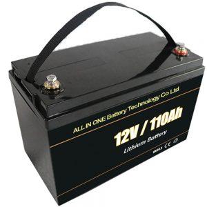 Zamienna bateria litowa ołowiowo-kwasowa 12V 110Ah lifepo4