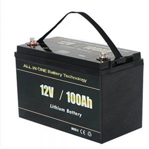 WSZYSTKO W JEDNYM Najbezpieczniejszy akumulator litowy RV 12v 100ah LiFePO4