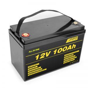 Akumulator LiFePO4 akumulator litowy 12v 100ah akumulator o głębokim cyklu