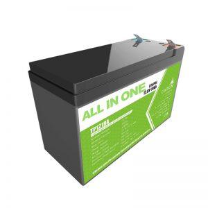 Wymień żelowy akumulator kwasowo-ołowiowy 12 V 10 Ah Akumulator litowo-jonowy dla małego magazynu energii