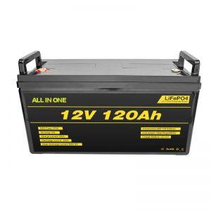 Bateria litowa Lifepo4 BMS 12v 120ah Bateria litowo-jonowa Lifepo4 12v