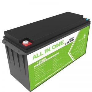 Bateria litowa o dużej pojemności 12,8 V 150 Ah do domowego przechowywania energii słonecznej