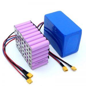 Cena fabryczna 18650 Ogniwo akumulatorowe o dużej mocy 12 V Akumulator litowo-jonowy na sprzedaż