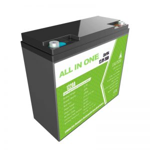 WSZYSTKO W JEDNYM 12.8V20Ah wymienna bateria litowa kwasowo-ołowiowa