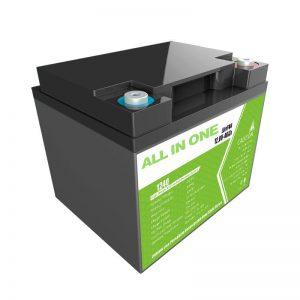 Cena fabryczna 12,8 V 40 Ah zamiennik kwasu ołowiowego do magazynowania energii w sprzęcie gospodarstwa domowego