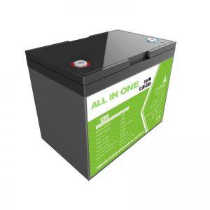 Akumulator litowo-jonowy Hotsale 12,8 V 80 Ah do zasilania rezerwowego do magazynowania energii słonecznej Wymień akumulator kwasowo-ołowiowy długa żywotność