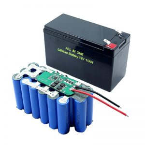 WSZYSTKO W JEDNYM 18650 3S5P 12Voltowa bateria litowa 11Ah Akumulator litowy