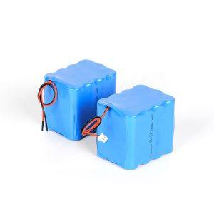 Indywidualny akumulator litowy wielokrotnego ładowania 18650 akumulator litowo-jonowy 3s4p 12v o wysokim rozładowaniu