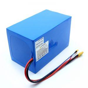 Bateria litowa 18650 48V 51.2AH 24v 30V 60V 15ah 20Ah 50Ah akumulatory litowo-jonowe 18650 48V akumulator litowo-jonowy do skutera elektrycznego