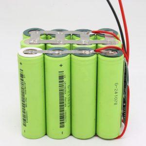 Hurtownie dostosowane 18650 litowo 4s3p wodoodporna płytka drukowana akumulator o głębokim cyklu 12v 10AH do elektronarzędzia