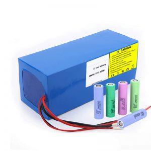 Bateria litowa 18650 72V 20Ah niska szybkość samorozładowania 18650 72v 20ah akumulator litowy do motocykli elektrycznych