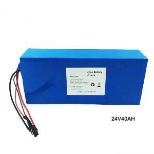 Rower elektryczny rower 24 V bateria litowa 24 V 40Ah NMC akumulator litowo-jonowy akumulator litowo jonowy