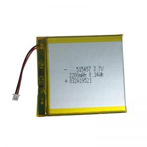 Polimerowe baterie litowe 3,7 V 2200 mAh do inteligentnych urządzeń domowych