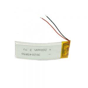 Dostosowana bateria LiPO 302045 3,7 V 260 mAh