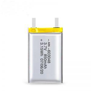 Akumulator LiPO 603048 3,7 V 850 mAh / 3,7 V 1700 mAH / 7,4 V 850 mAH