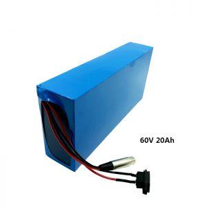 Dostosowany akumulator litowy do ładowania 60v 20ah EV