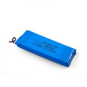 Akumulator LiPO 651648 3,7 V 460 mAh / 3,7 V 920 mAH / 7,4 V 460 mAH