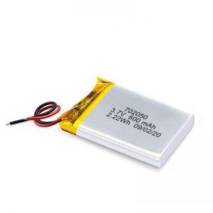 Chiny Hurtownia 3,7 V 600 Mah 650 Mah Mini akumulator litowo-polimerowy Akumulator litowo-jonowy do samochodu zabawkowego