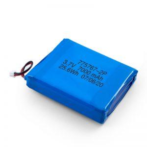 Niestandardowa bateria polimerowa Lipo 3,7 V 2450 2600 3900 4000 4500 4700 5000 6000 9000 Mah