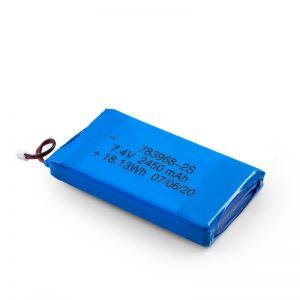 Akumulator LiPO 783968 3,7 V 4900 mAH / 7,4 V 2450 mAH / 3,7 V 2450 mAH /