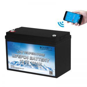 Niskotemperaturowy akumulator LiFePO4 12V 100AH