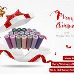 Życzenia Wesołych Świąt od ALL IN ONE Battery Technology Co Ltd