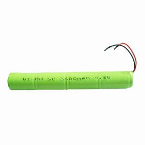 Akumulator NiMH SC 3600 mAH 4,8 V.