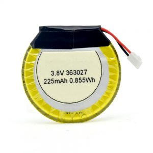 Dostosowana bateria LiPO 363027 3,7 V 225 mAH