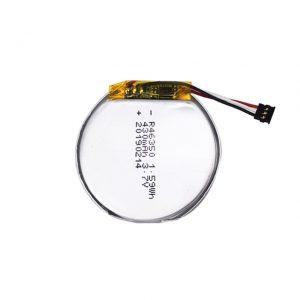 Dostosowana bateria LiPO 46350 3,7 V 350 mAH bateria inteligentnego zegarka 46350 mała płaska okrągła bateria litowo-polimerowa do zabawek